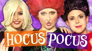 We Got Transformed into the Hocus Pocus Witches! (Boo-ty Break)