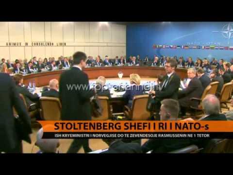 Stoltenberg kreu i ri i NATO-s - Top Channel Albania - News - Lajme