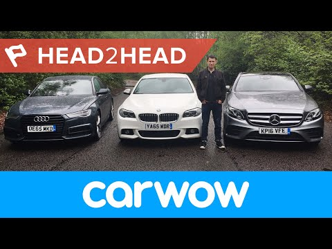 Mercedes E-Class vs BMW 5 Series vs Audi A6 Saloon 2017 review | Head2Head