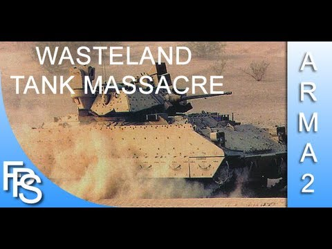 ARMA 2 Wasteland Detonando tank inimigo