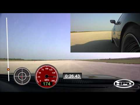 Supra - onboard camera - The Texas Mile - May 2011