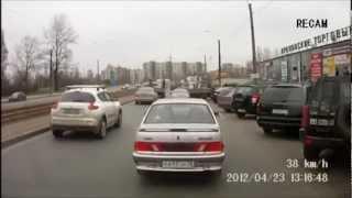 Подборка ДТП с видеорегистраторов 43 \ Car Crash compilation 43