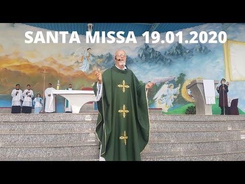 Santa Missa | 19.01.2020 | Padre José Sometti | ANSPAZ