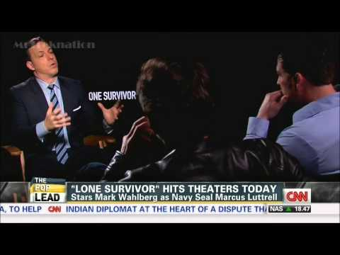 Mark Wahlberg & Marcus Luttrell - Interview The Movie #LoneSurvivor 1-10-14