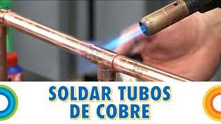 Como soldar tubería de cobre