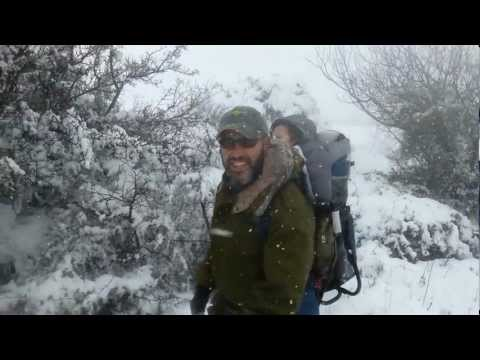 Blizzrael - Giant Storm Drops A Blanket of White Fresh Snow on Israel