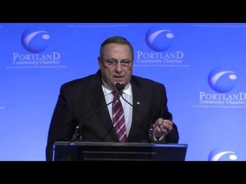 Eggs & Issues with Governor Paul LePage, May 8, 2014
