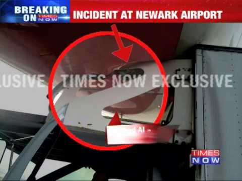 Truck rams into Air India aircraft