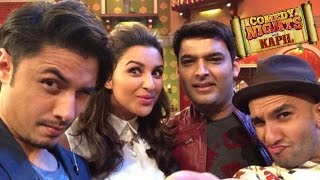 Parineeti Chopra & Ranveer Singh On Comedy Nights With