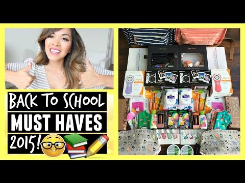 BACK TO SCHOOL Must Haves 2015! + Huge Giveaway!!