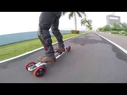 First Run Hero3 Aluminum electric longboard patineta electrica
