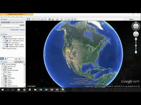 Upload GPS Coordinates to Google Earth Pro