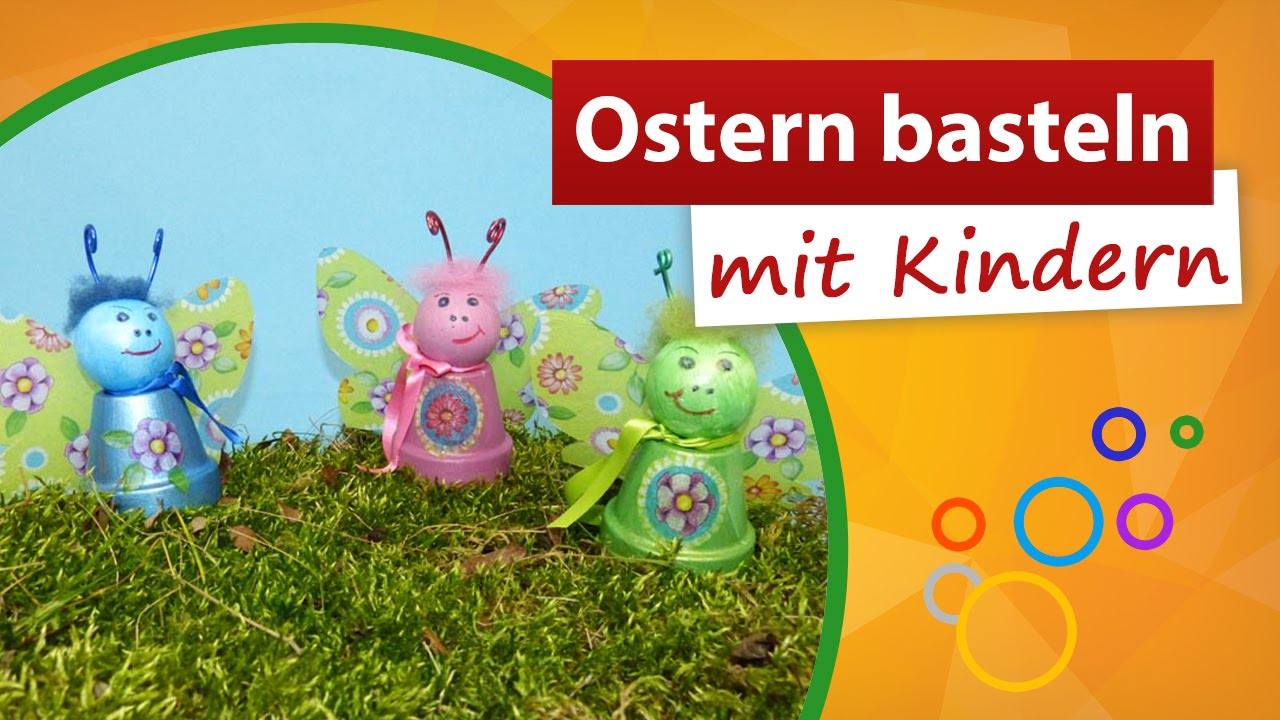 ostern basteln mit kindern youtube. Black Bedroom Furniture Sets. Home Design Ideas