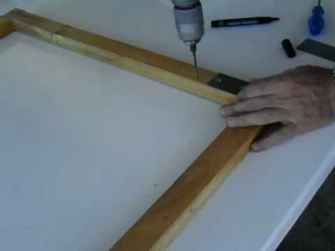 Bastidor de madera regulable