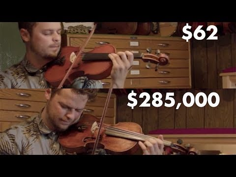 comparing a $62 violin versus a $285,000 Violin