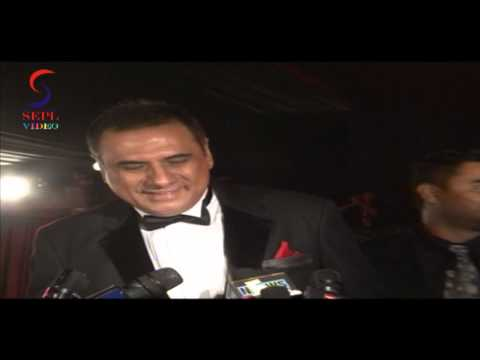Boman Irani Spotted @ Amitabh Bachchan Birthday Party