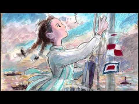 "From Up On Poppy Hill - Studio Ghibli - Kokurikozaka kara - Theme Song, The title of this song is ""sayonara no natsu""... Please subscribe.."