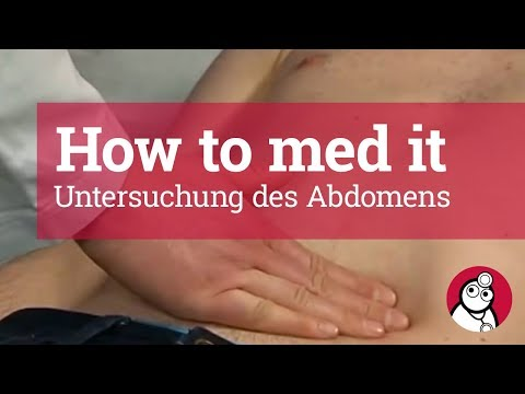 How to make it: Untersuchung des Abdomens
