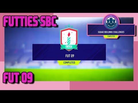 FIFA 18 - FUTTIES - FUT 09 SBC & Pack Opening