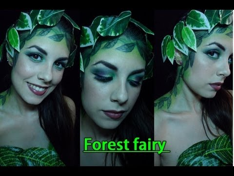 Disfraz de Hada del bosque! / Forest fairy makeup!