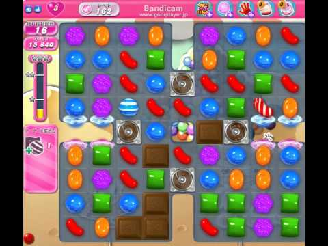 Candy Crush Saga Level 162 clear - YouTube