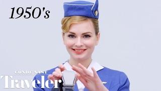 100 Years of Flight Attendant Uniforms | Condé Nast Traveler