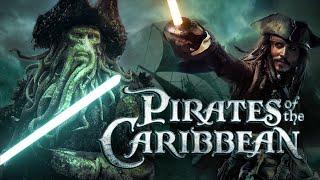 Piráti karibiku so svetelnými mečmi