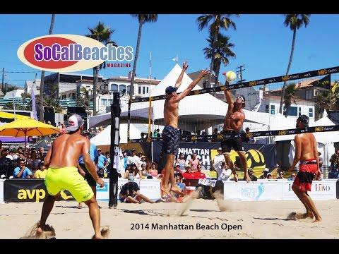 2014 AVP Manhattan Beach Open Finals Day Highlights