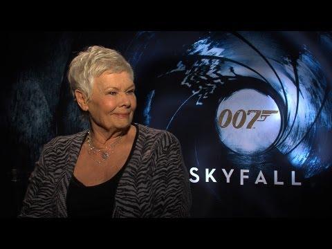 'Skyfall' Judi Dench Interview HD