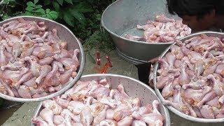 Indian Street Food | Spicy CHICKEN REZALA Preparation | Street Food Kolkata | Best With Rumali Roti