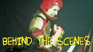 """""""I Love You Iron Man"""" - Performed by Tony Stark (Homemade Music Video - Behind The Scenes)"""