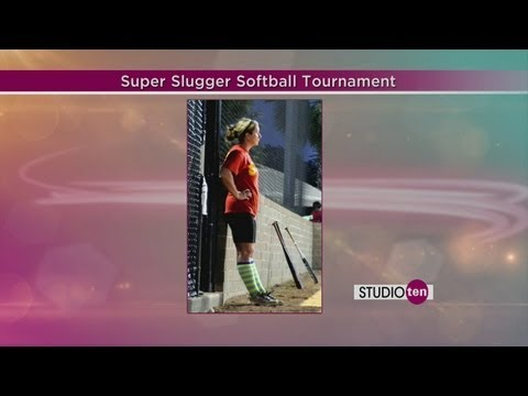 studio10: Jensen's heart of gold, softball tournament