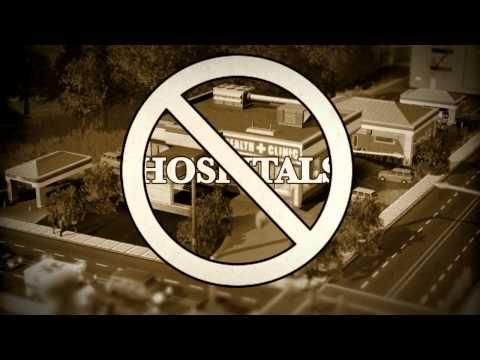 SimCity — видео про катастрофы
