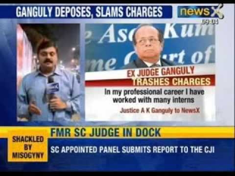 Shocked, shattered by sexual harassment allegations, former Supreme Court judge Ganguly says - NewsX