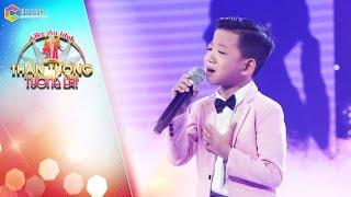 Thần tượng tương lai | tập 5: Quang Linh, Cẩm Ly cực thích thú với giọng hát của cậu bé 9 tuổi
