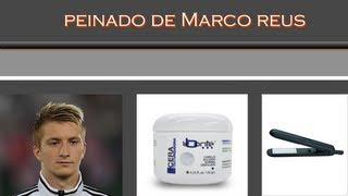 Peinado De Hombre,Hairstyle-Marco Reus Borussia Dortmund