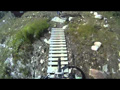 Downhill in Hemavan with GoPro HD.
