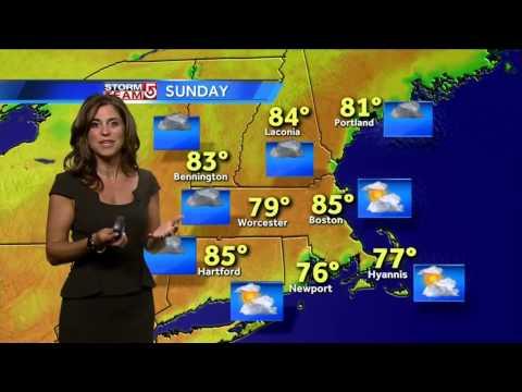 Cindy's Boston-area weather forecast