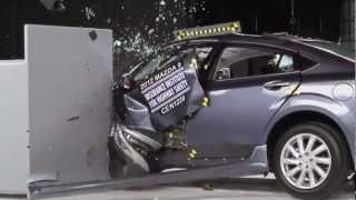 Mazda 6 kaza testi - IIHS 2012