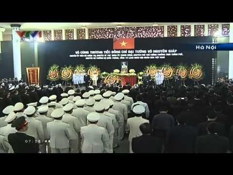[FULL] Chương trình lễ tang Đại tướng Võ Nguyên Giáp
