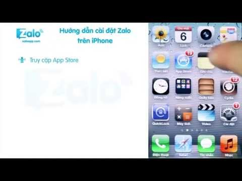 Zalo: Hướng dẫn cài Zalo trên Iphone IOS