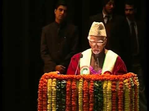Vice Prez Hamid Ansari addresses students of Mata Vaishno Devi University