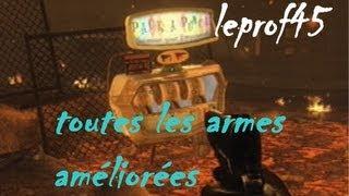 Test De Toutes Les Armes Améliorées Du Mode Zombie Sur
