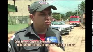Escada desaba e mata beb� no Vale do Rio Doce