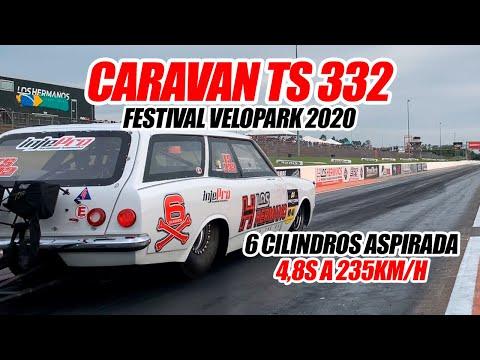 Caravan TS#332 no Festival Velopark 2020! 1º Lugar na TS - INJEPRO