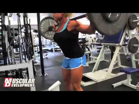 IFBB Pro Bodybuilder Tina Chandler; July Prep for Ms. Olympia 2011