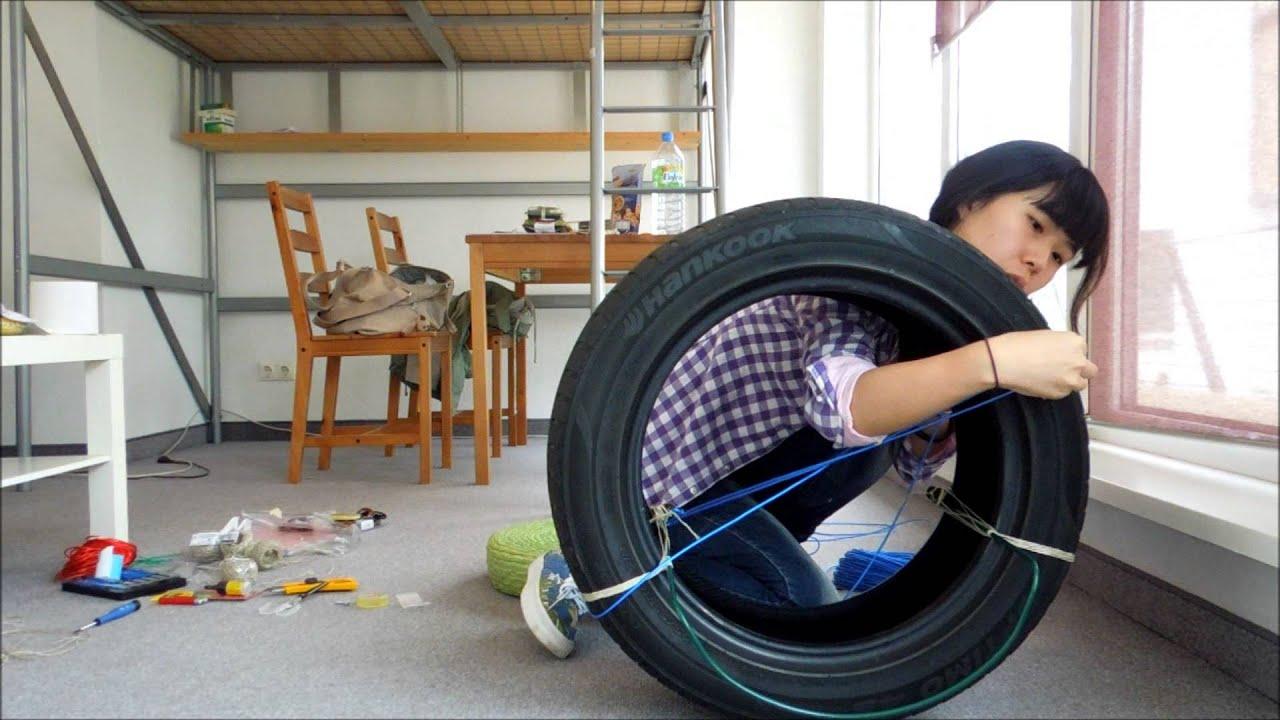 Кресло из шины своими руками фото