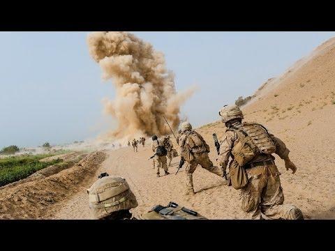 Cảnh bắn nhau kinh hoàng giữa lính Mỹ và phiến quân IS
