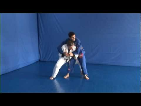 DraculinoBJJTraining.com Sample Technique - Standing Rear Bear Hug Escape