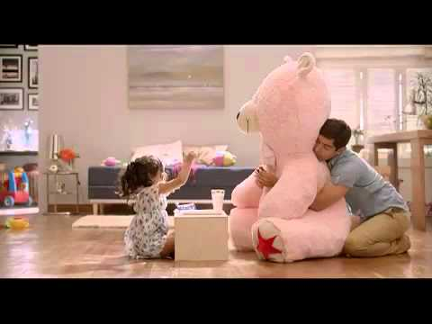 Oreo father daughter teddy TVC